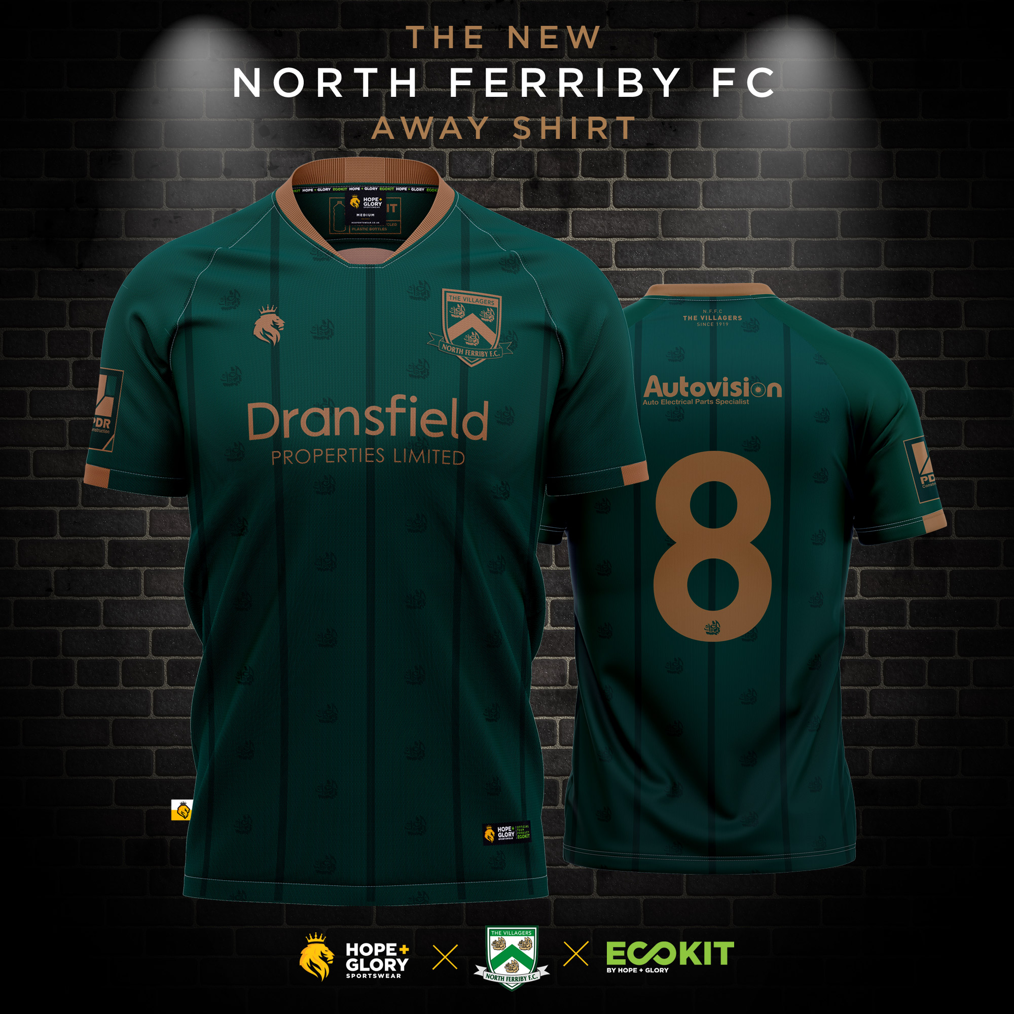 New 'away' shirt for 2020/21