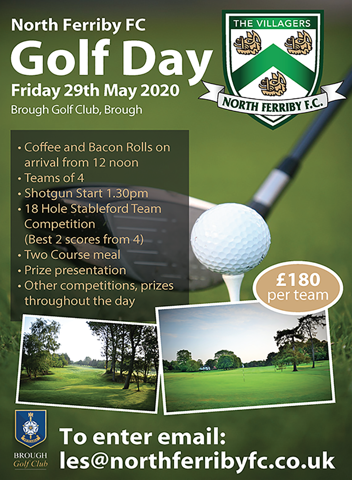 North Ferriby FC Golf Day 2020