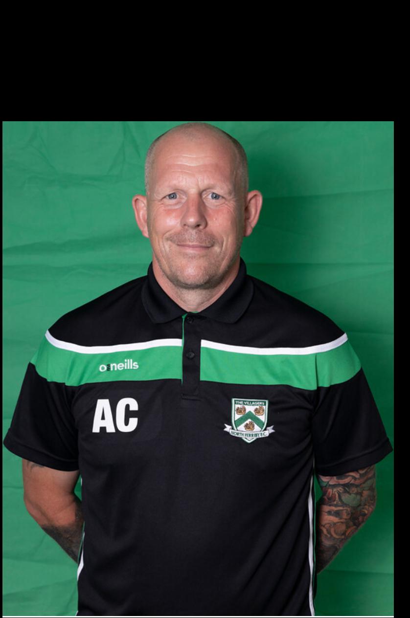 Andy Clark (GK Coach)